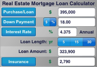 how to find out someones mortgage payment