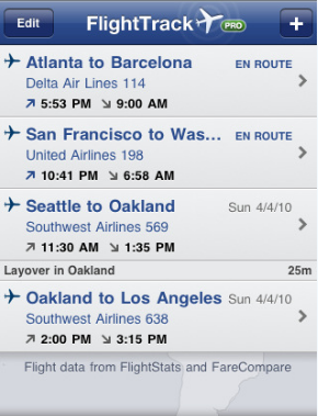 5 Best Flight Tracking Apps for iPhone