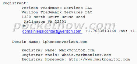 Verizon Buying iPhone Related Domains?