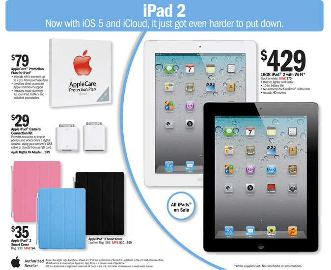 iPad 2 Price Dropped, New Apple TV Leaked?