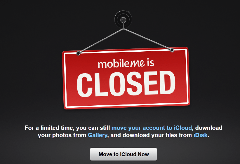 Apple Closes Down MobileMe, Webr for iOS Debuts