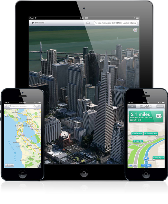 Why Apple Dumped Google Maps: Over Voice-Guided Directions?