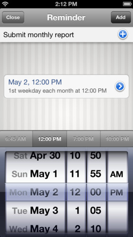 11 Awesome Reminder Apps for iPhone