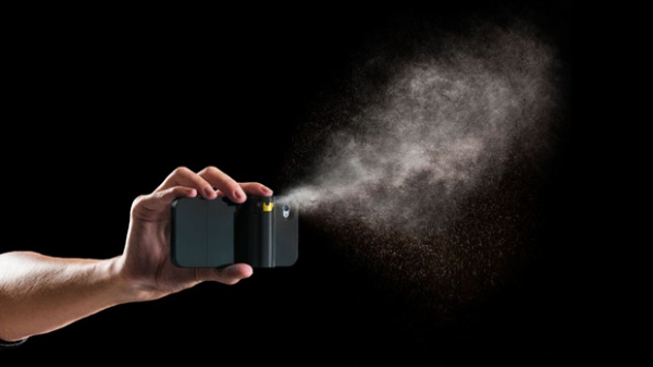 Pepper Spray Phone Case : this is a smartphone with a detachable ...