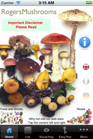 5 Cool Mushroom Apps for iPhone / iPad