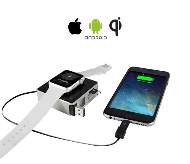 OCharger: Portable Charger, Memory For Apple Watch