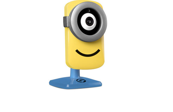 Stuart Cam HD WiFi Camera with Minion Voice Modulator - iPhoneNess
